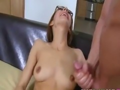 Hot beauty receives fucked hard by her stepdad