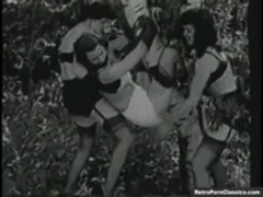 Vintage Betty Page Bondage free