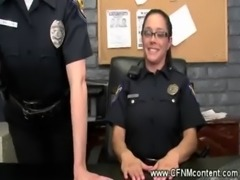 CFNM cops punishing two dicks free