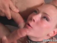Audrey Hollander gets double fucked