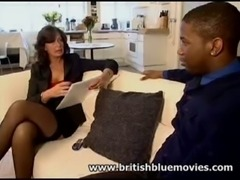Sarah Beattie - British MILF Interracial Anal free