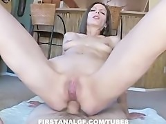 Pettite MILF gets her ass fucked