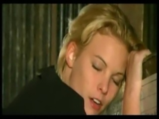 Two blonde beauties anal fucked in the stables free