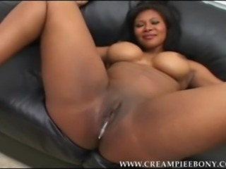 Amateur Video Shoot at Home where Nice Black Babes with choco round ass fucked hard by a horny white guy for creampie pussy.