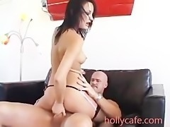 nasty milf gets fucked in all holes