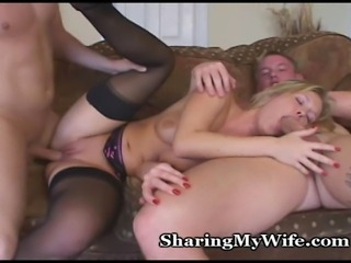 Wife's 3some To Show Hubby