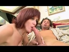 Orgasm from Aunt mouth