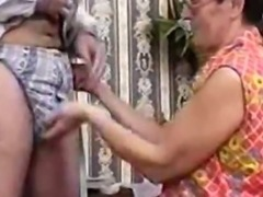 Classic porn with a hairy milf