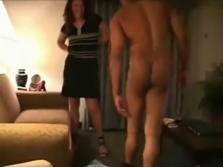 Cuck Wife Gets Cream Pied as Hubby Films
