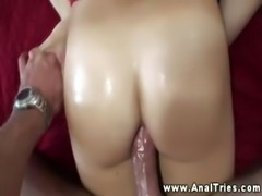 Blonde with tightest ass gets fucked and cant get enough