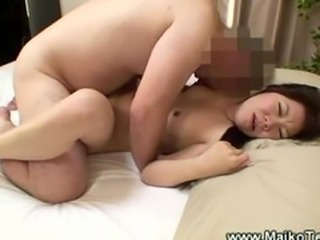 Japanese maiko fucked hard by dirty old man