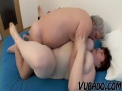 OLD, FAT AMATEUR COUPLE FUCKS !! free