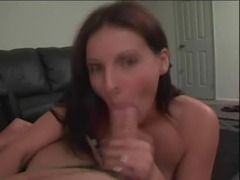 Dominica Leoni blowjob & facial