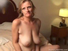 Slutty mature trailer trash loves to fuck free