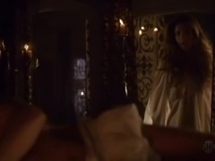 Charlotte Salt has royally naked onto A Tudors