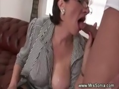 Cuckolds wife gets creamed free