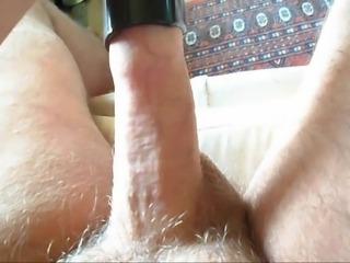 Male masturbation with vacuum join