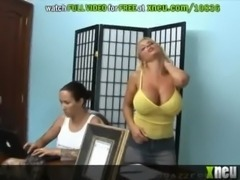 Oiled Up Massage Ends Up As An Oiled Up Fuck For Holly Halston free