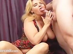 Mature Raven Takes A Dick Big Tits