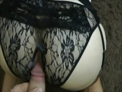 HOT WHITE MILF PLAYING WITH HER HUGE TITS AND HAIRY PUSSY, THEN GETTING ANAL! free