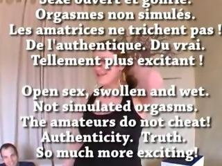 FRENCH amateur Je peux 11 orgasmes en 2h en matant un porno !