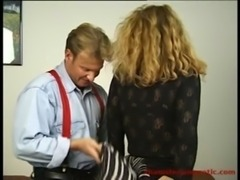 Hot chubby MILF secretary fucked hard by her boss free