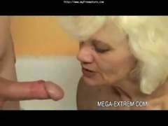 Mature  Privat Sex-movie: Sexy  Old Granny Fucks Guy Part1 mature mature porn...