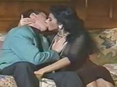 Julia Chanel, European pornstar gets jammed in this retro scene