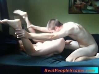 Young college couple make love and record it for the first time