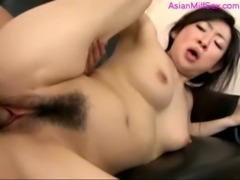 Milf Getting Her Hairy Pussy Fucked By 2 Guys Facials In The Sitting Room free