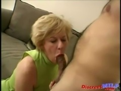 Nasty Mature Slut Gets Facial Load free