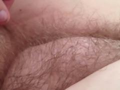 twisting her sexy ripe nipple.