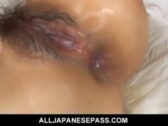 Asian cougar bends over for a hard dicking free