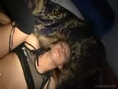 Title says it all.  Rare video of brace wearing porn starlet Leah Luv getting...