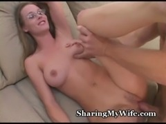 Kinky Wifey Slurps New Stud free