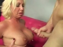 Hot Mature Busty Blonde Cougar Licks Ass | http://phimsexnet.com free
