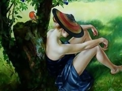 Sensual Erotic  Art of  Francine Van Hove