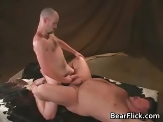 Gay bear porn and hard dick thrusting part3