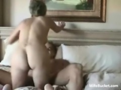 older amateur couple enjoys sex on the couch free