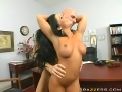 Cherokee and Johnny Sins Office Fuck free