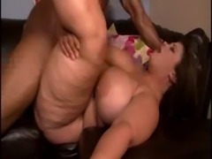 BEAUTIFUL WHITE SSBBW MILF WITH HUGE TITS TAKING SOME BLACK COCK free