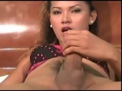 ladyboy spurting cum