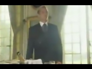 French butler fucks the lady of the house