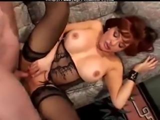 Granny amp Pornstars Sexy Vanessa Bella  mature mature porn granny old cumshots cumshot