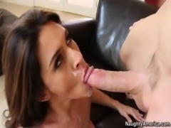 Busty Raylene Meets Her Sons Roomie and Fucks His Big Cock free