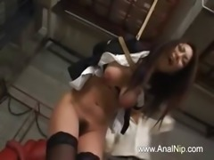 Deep hairy anal banging in prison