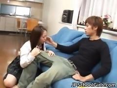 Horny school girl Hinayo Motoki juicy