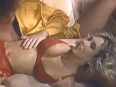 Victoria is in the TOP 3 BEST ALL TIME Bodies in Porn History!  Here, she looks Amazing in Red Lingerie as Tom gives her his usual- pedestrian - poking.