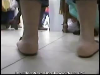 Candid arabic feet 13