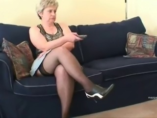 Mother In Nylon Stockings